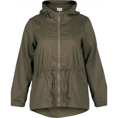 Z20069A jakke army front zizzi