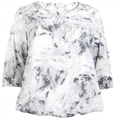 LEANZIP- Bluse